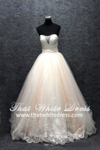 S1408W05 LL Evening dress Princess Peach