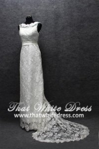 silver-wedding-gown-1305w006-column-illusion-lace-champagne-belt