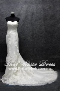 silver-wedding-gown-1401w02-trumpet-hand-embroidered-lace-heart-shape-tube