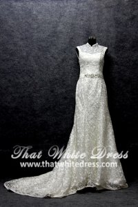 silver-wedding-gown-1401w12-trumpet-oriental-sheer-lace-back