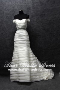 silver-wedding-gown-1401w13-off-shoulder-tiered